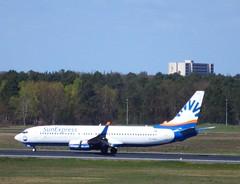 TC-SUU - Boeing 737-86Q (Digi-Joerg) Tags: turkey antalya tc txl boing737 sunexpress berlintegel internationalerverkehrsflughafen 22042016 ersterflug01052001
