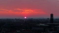 Zonsopkomst in Vlissingen (Omroep Zeeland) Tags: wolken stad zonsopkomst