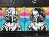 Zebou on Brick Lane (Matt From London) Tags: streetart prayer pray bricklane gasmasks zebou