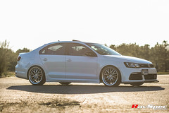 "WEDS Maverick 709M - VW GLI • <a style=""font-size:0.8em;"" href=""http://www.flickr.com/photos/64399356@N08/26200207310/"" target=""_blank"">View on Flickr</a>"