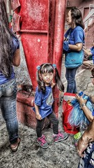 HDR using Mobile - Shryyasha Marichu (sunokie) Tags: people child philippines hdr nokie casido sheryyasha