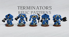 Relic Patterns Terminators (Garry_rocks) Tags: pattern lego 40k prototype warhammer ultramarine terminator mecha gorgon spacemarine preheresy