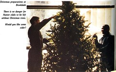 Christmas at Hunter College (Hunter College Archives) Tags: christmas tree students events 1996 yearbook social event hunter preparations activities brookdale huntercollege socialevents studentactivities wistarion studentlifestyles thewistarion