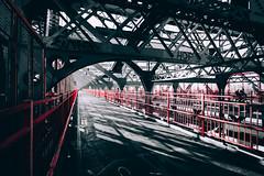 (f_stops) Tags: nyc newyorkcity urban newyork architecture vanishingpoint nikon industrial streetphotography bridges illumination sigma sunsets ultrawide urbex harshlighting sigma1020 newyorkphotography nikonphotographers unlimitedphotos njphotographers nikon3300 uwaphotos