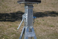 CAVALLETTI VERTICALI REGOLABILI/VERTICAL STANDS TELESCOPES