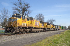 Outbound Intermodal (Nick Gagliardi) Tags: new railroad heritage train pacific union norfolk nj trains southern jersey shared assets unit virginian conrail manville intermodal csao