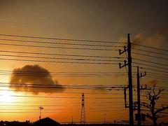 NikonP330 Twilight Afterglow Sunset (tostomo) Tags: sunset twilight afterglow nikonp330