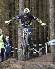 02 MTB SCDH 16 Apr 2016 (49) (Kate Mate 111) Tags: uk mountain bike forest cycling crash sheffield yorkshire steve competition racing downhill peat riding mtb mountainbiking grenoside