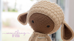 Lupo the Lamb Lalyala (somethingbyvera) Tags: crochet yarn lamb lalylala