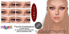 [KoKoLoReS]BP- Flourish Eyeshadows - GenesisLab ( ~  ~) Tags: makeup secondlife cosmetics eyeshadow kokolores genesislabappliers