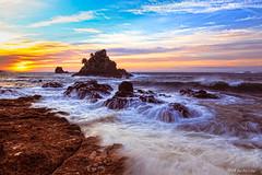 izu Oose Rock (koshichiba) Tags: longexposure cloud seascape beach nature japan sunrise landscape coast long exposure surf wave filter shore lee nd   izu    oose minamiizu