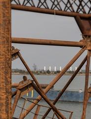 Rustic (Robby van Moor) Tags: water dock harbour rustic land works scape polder dike lelystad
