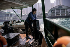 Star Ferry (Kevin Dharmawan) Tags: china water ferry hongkong asia streetphotography starferry kowloon victoriaharbor