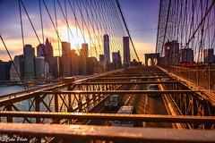 From Brooklyn Bridge to Manhattan (cekuphoto) Tags: sunset newyork nikon unitedstates manhattan brooklynbridge d7100