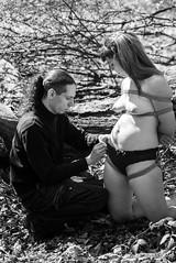 "Shibari ""A Forest"" (unkle.z.photography) Tags: bondage bdsm ropes cordes nue modele shibari kinbaku"
