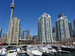 Queens Quay West, Toronto (Howard258) Tags: downtown waterfront harbourfront downtowntoronto torontoontario queensquay 2016