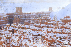 Bryce Canyon Winter Sunwash - Happy Earth Day (Alfred J. Lockwood Photography) Tags: winter snow nature landscape utah nationalpark sandstone afternoon brycecanyon hoodoos brycecanyonnationalpark alfredjlockwood