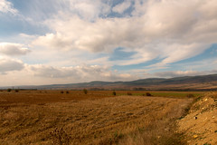 Bulgarian sky (petia.balabanova) Tags: travel autumn sky nature colors field clouds landscape bulgaria traveling paesaggio montains 2470mm nikond800