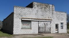 Old Garage (Comstock, Nebraska) (courthouselover) Tags: nebraska ne sandhills comstock greatplains custercounty