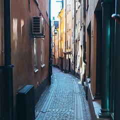 DSCF1843 (Henri Kotka) Tags: street alley fuji sweden stockholm fujifilm xt10