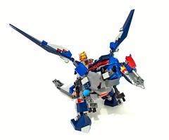 70327 - kings mechdragon05 (chubbybots) Tags: king lego mech moc nexoknights
