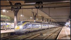 20160430 Eurostar E320 4013/4014, Rotterdam Centraal (16502) (Koen Brouwer) Tags: station speed train high rotterdam gare eurostar zug bahnhof testing international april trein centraal 2016 e320 16503 proefritten