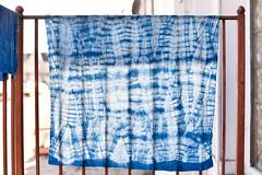 Indigo Class (the workroom) Tags: blue indigo class shibori theworkroom naturaldyeingclassindigo