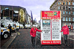 Welcome to Belfast.. (teedee.) Tags: street city art composite paint image sightseeing police belfast tourist 2016 psni