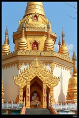 DP1U7131 (c0466art) Tags: trip travel blue light sky cloud tower water beautiful festival canon temple golden scenery bright buddha chinese spill 2016 1dx c0466art