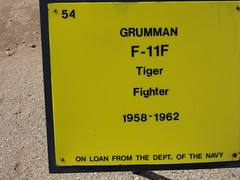 "Grumman F-11A Tiger 2 • <a style=""font-size:0.8em;"" href=""http://www.flickr.com/photos/81723459@N04/23491497644/"" target=""_blank"">View on Flickr</a>"