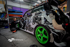 BMW Mini Cooper S printed full wrap (DUP_Automotive) Tags: cars car racecar automotive hampshire southampton 3m stance fitted trackcar germancars 3mwrap
