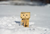 Day 18/366 January 18, 2016 (Wells Photos) Tags: snow shovel azuma yotsuba danbo kiyohiko project366 danboard cardbo