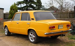 FTH 769 (1) (Nivek.Old.Gold) Tags: lada lithuania 1200s 4door