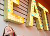 Eat! Brain Freeze! (sarahbethsmithphotography) Tags: blackandwhite restaurant fastfood streetphotography diner eat tacoma milkshake vintagestyle ttown shakeshakeshake stadiumdistrict marqueesign litupsign