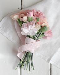 Bouquet (Caz Ann) Tags: flowers ribbon