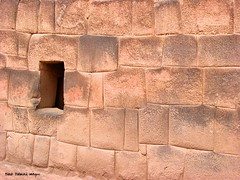 Incredible Inca Stone Work at Raqch'i Inca Archaeological Site (Temple of Wiracocha or Temple of Viracocha) (3480 M asl), San Pedro District, Canchis Province, Cusco Region, Peru (Black Diamond Images) Tags: peru southamerica stonework per inka sanpedro raqchi prou amricadosul amriquedusud zuidamerika archaeologicalsite sudamrica inkaexpress templeofviracocha sanpedrodistrict cuscoregion riovilcanota republicofperu repblicadelper routeofthesun templeofwiracocha incaarchaeologicalsite departamentodecusco willkanutariver canchisprovince qullqas inkaarchaeologicalsite riowillkanuta