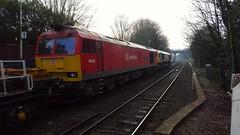 60024 DIT behind 66559 Reading West  7X26 Hinksey - Eastleigh (dan warman1) Tags: tug diesellocomotive class60 60024 readingwest dbschenker