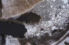 Ice jam on Riisa (BlizzardFoto) Tags: bridge ice water village flood aerialphotography vesi j icejam sild riisa soomaa aerofoto kla leujutus soomaanationalpark soomaarahvuspark viiesaastaaeg hallistejgi jminek riverhalliste