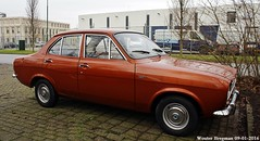 Ford Escort 1100 L 1972 (XBXG) Tags: auto old uk england holland classic ford netherlands car vintage automobile nederland voiture l british 1972 paysbas escort ancienne houten 1100 fordescort brits anglaise 2750vt