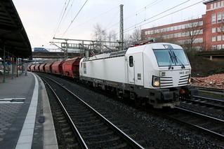 DB Schenker 193 611-1 Kalizug, Hamburg-Harburg