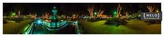 001 Desde el centro de la Antigua en Navidad ([nelo]) Tags: trees panorama navidad rboles guatemala fuente panoramica gt montaa deportes parquecentral sacatepquez lucesnavideas locacion laantiguaguatemala festivalcircense fuentedelassirenas