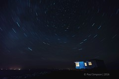 The Lookout. (pauls1502) Tags: skye night stars island scotland nikon isleofskye little nightsky minch isle startrails bothy scottishhighlands rubha duntulm hunish