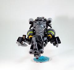 Lesovikk's Sea Sled - Flight Back (0nuku) Tags: green underwater lego air submarine master vehicle g2 glider bionicle toa 2015 faxon uniter ccbs mahrinui lesovikk karzahni ussanui
