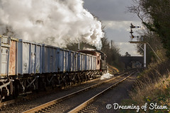 GCR-WINTER-GALA-49 (Steven Reid - Reid Photographic) Tags: railroad heritage train vintage smoke engine railway steam locomotive steamengine 260 steamlocomotive lms 2016 greatcentralrailway gcr ivatt wintergala heritagerailways 46521 ivattclass2