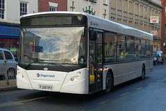 Stagecoach AD Enviro 300 27593 FJ08VPZ - Doncaster (dwb transport photos) Tags: bus alexander dennis stagecoach enviro doncaster 27593 fj08vpz