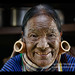 Hung Shen, 88 year old Magan Chin woman with face tattoos in Mindat, Myanmar
