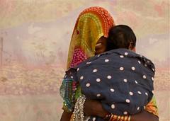 Rajasthan Woman with child (Simon Maddison LRPS) Tags: raw pushkar rajasthan