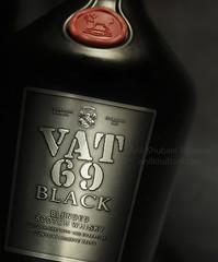 Vat 69 (Anil Khubani 'Flyaway') Tags: black studio whiskey liquor 69 vat jaipur tabletop malt voila productphotography vat69 voilaindia