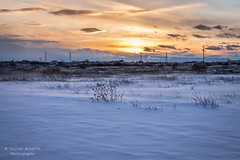 Warmth Falls (coltonhouston5) Tags: blue sunset sky sun white snow cold ice nature clouds landscape landscapes snowy warmth falls icy