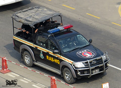 Bangladesh Rapid Action Battalion Toyota Hilux (Samee55) Tags: protocol hilux rab